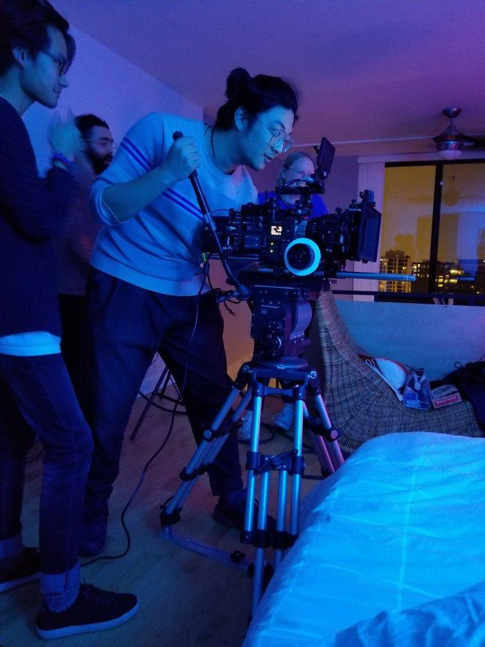 Shooting 8k short film