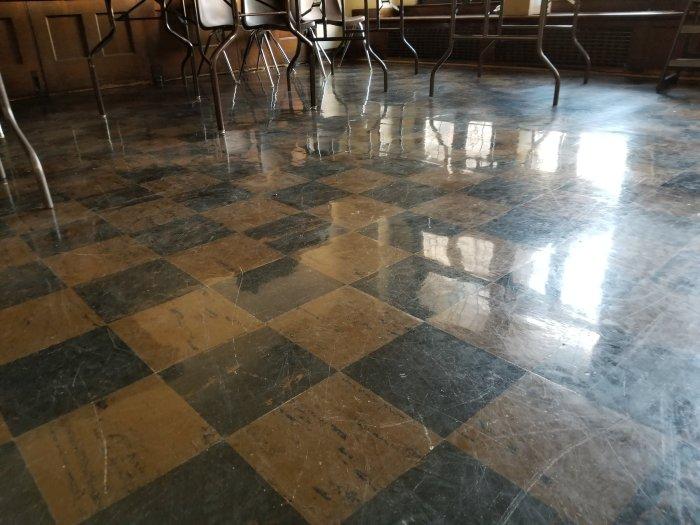Floors at Calvary Memorial church Oak Park Il